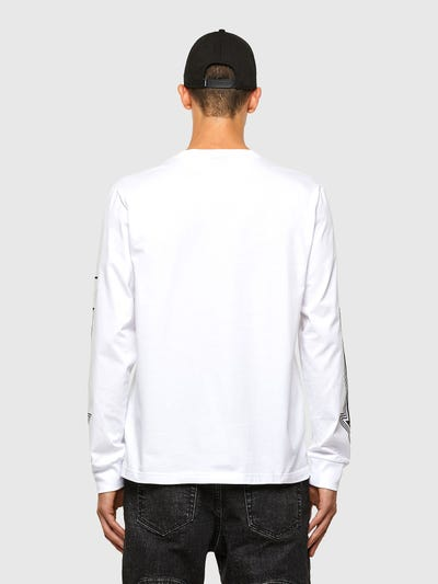 T-JUST-LS-A8 White